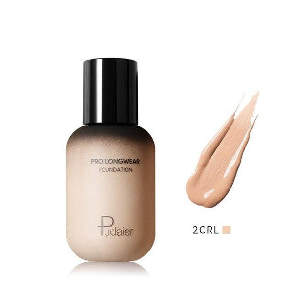 PINkart-USA 2CRL Pudaier 40Ml Pro Longwear Face & Body Foundation Spf 30 Sheer Coverage Hydrating Liquid Face