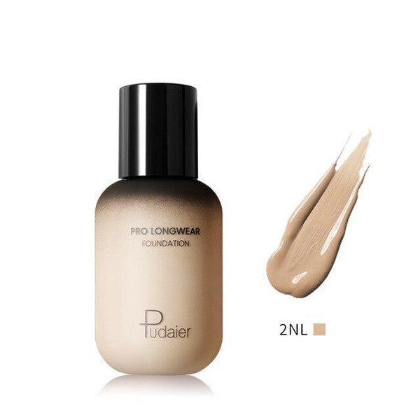 PINkart-USA 2NL Pudaier 40Ml Pro Longwear Face & Body Foundation Spf 30 Sheer Coverage Hydrating Liquid Face