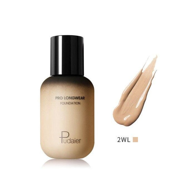 PINkart-USA 2WL Pudaier 40Ml Pro Longwear Face & Body Foundation Spf 30 Sheer Coverage Hydrating Liquid Face