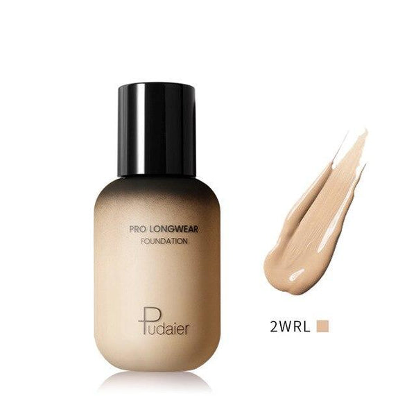PINkart-USA 2WRL Pudaier 40Ml Pro Longwear Face & Body Foundation Spf 30 Sheer Coverage Hydrating Liquid Face