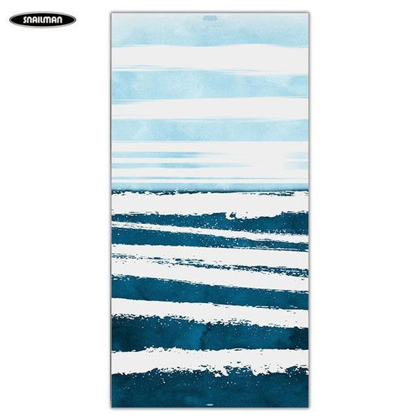 PINkart-USA 3 / 160x80cm Compact Portable Beach Towel Boat Washcloth Yoga Towel Swimwear Shower Pool Microfiber Bath