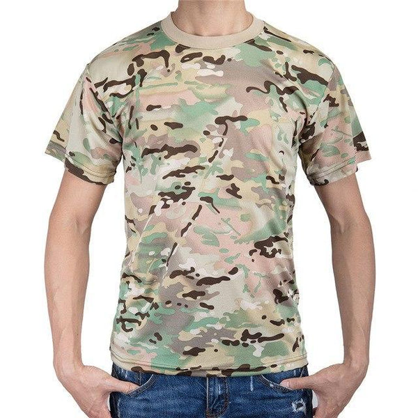 PINkart-USA 3 / M Military Camouflage T Shirt Men Cotton Us Army Combat Tactical T-Shirt Summer Quick Dry