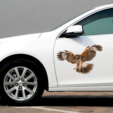PINkart-USA 30*18Cm 3D Big Eagle Car Stickers Decals Waterproof For Decoration Simulation Stickers For