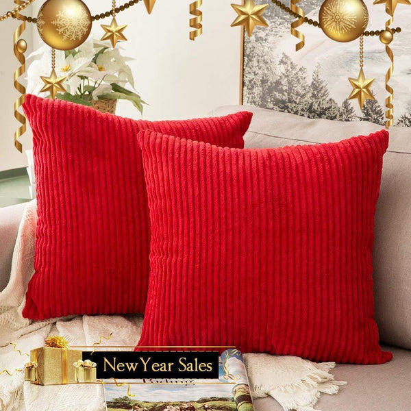 PINkart-USA 30CMX50CM / Coffee 1 Pc Soft Soild Decorative Square Throw Pillow Covers Set Cushion Cases Comfortable Corduroy