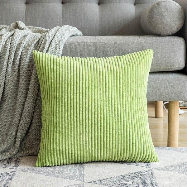 PINkart-USA 30CMX50CM / Fruit Green 1 Pc Soft Soild Decorative Square Throw Pillow Covers Set Cushion Cases Comfortable Corduroy