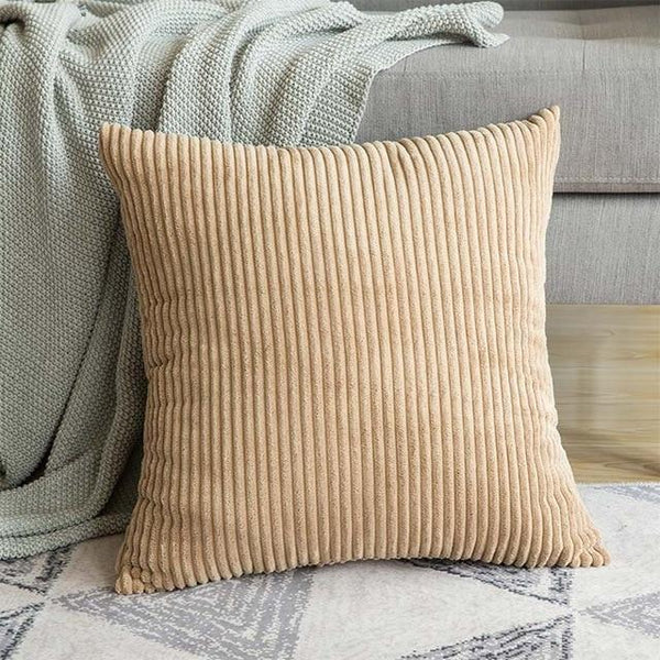 PINkart-USA 30CMX50CM / Light Camel 1 Pc Soft Soild Decorative Square Throw Pillow Covers Set Cushion Cases Comfortable Corduroy