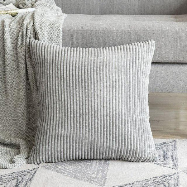 PINkart-USA 30CMX50CM / Light Gray 1 Pc Soft Soild Decorative Square Throw Pillow Covers Set Cushion Cases Comfortable Corduroy
