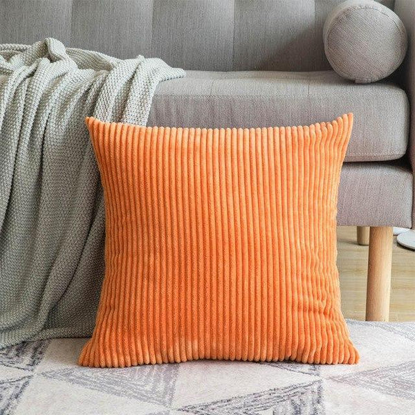 PINkart-USA 30CMX50CM / Orange Yellow 1 Pc Soft Soild Decorative Square Throw Pillow Covers Set Cushion Cases Comfortable Corduroy