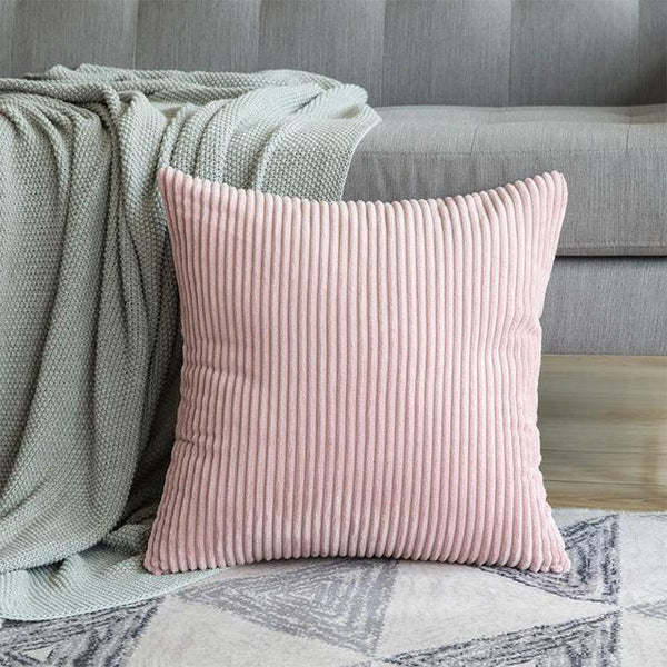 PINkart-USA 30CMX50CM / Pink 1 Pc Soft Soild Decorative Square Throw Pillow Covers Set Cushion Cases Comfortable Corduroy