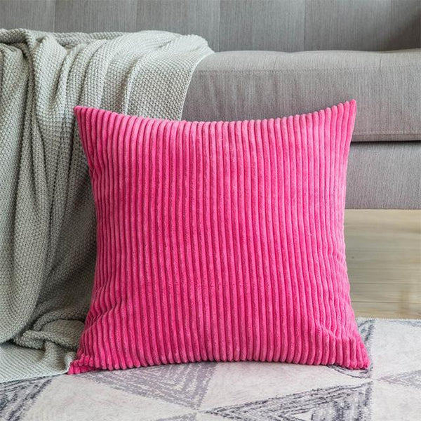 PINkart-USA 30CMX50CM / Rosered 1 Pc Soft Soild Decorative Square Throw Pillow Covers Set Cushion Cases Comfortable Corduroy