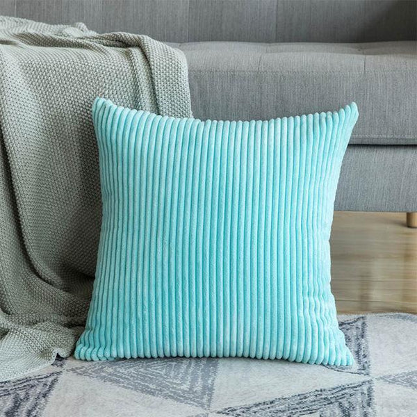 PINkart-USA 30CMX50CM / Water Blue 1 Pc Soft Soild Decorative Square Throw Pillow Covers Set Cushion Cases Comfortable Corduroy