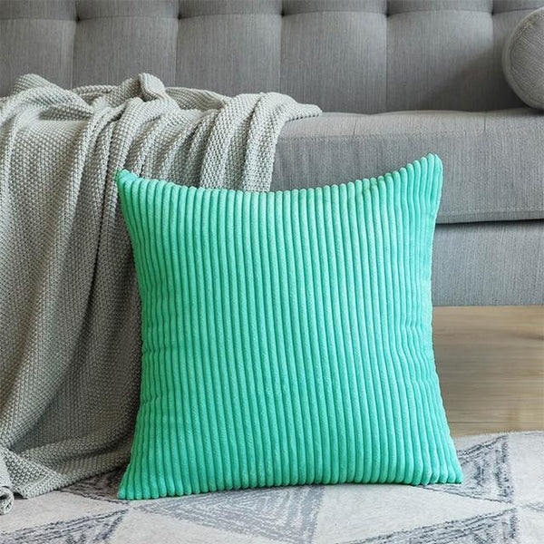 PINkart-USA 30CMX50CM / Water Green 1 Pc Soft Soild Decorative Square Throw Pillow Covers Set Cushion Cases Comfortable Corduroy
