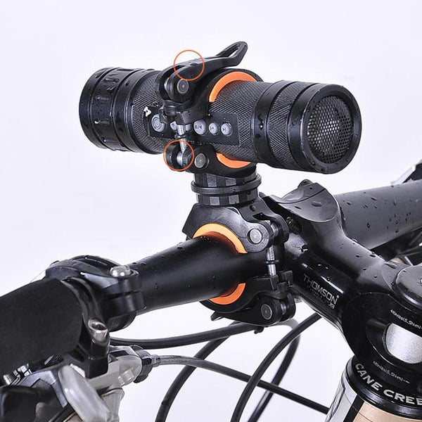 PINkart-USA 360 Degree Rotary Multifunctional Bicycle Flashlight Holder Cycling Accessories Lamp Holder Bike