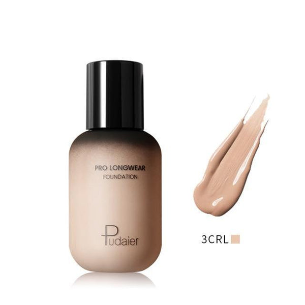 PINkart-USA 3CRL Pudaier 40Ml Pro Longwear Face & Body Foundation Spf 30 Sheer Coverage Hydrating Liquid Face