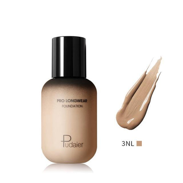 PINkart-USA 3NL Pudaier 40Ml Pro Longwear Face & Body Foundation Spf 30 Sheer Coverage Hydrating Liquid Face