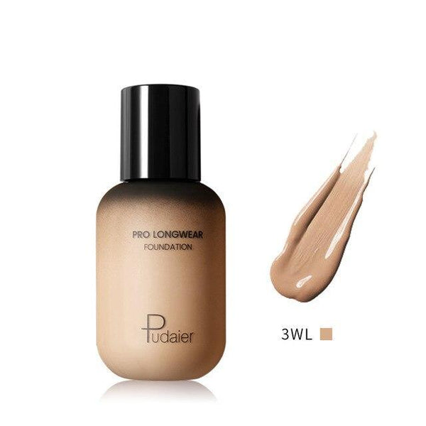 PINkart-USA 3WL Pudaier 40Ml Pro Longwear Face & Body Foundation Spf 30 Sheer Coverage Hydrating Liquid Face