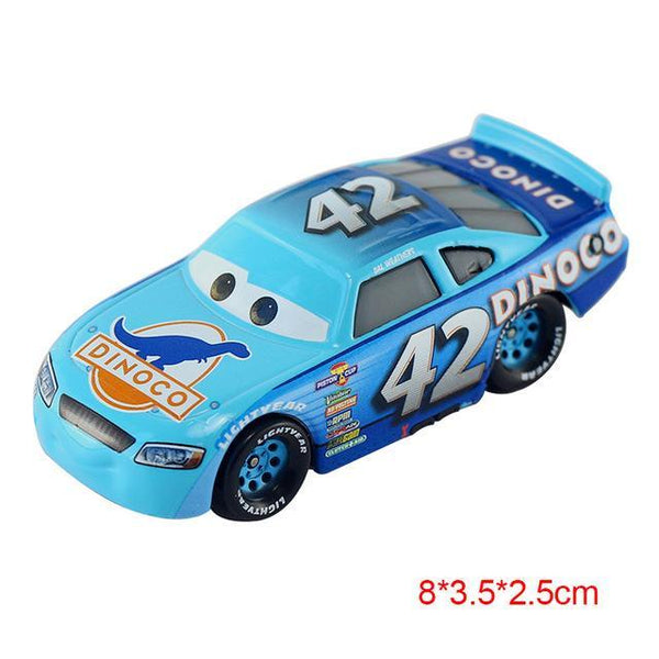 Pixar Cars 2 3 Lightning Mcqueen Mater Jackson Storm Ramirez 1:55 Diecast Vehicle Metal Alloy Boy