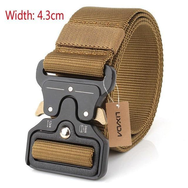 Tactical Belts Nylon Military Waist Belt With Metal Buckle Adjustable Heavy Duty Training Waist