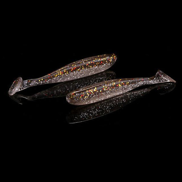 PINkart-USA 5 / 7cm 6Pcs/Lot 7Cm/9Cm Wobblers Fishing Lures Easy Shiner Swimbait Silicone Soft Bait Double Color Carp