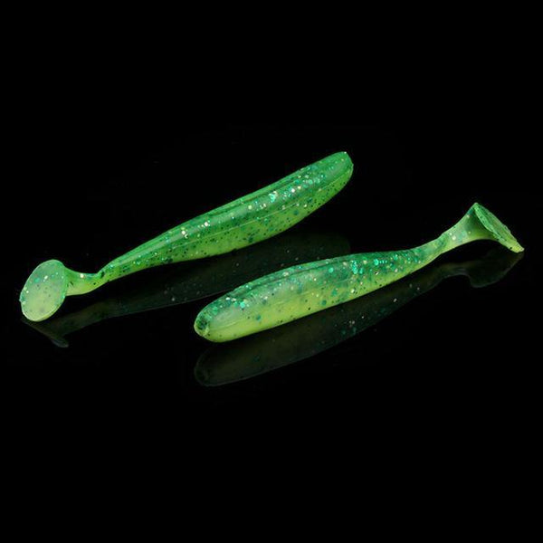 PINkart-USA 5 / 7cm 6Pcs/Lot Easy Shiner Soft Lures 70Mm/90Mm Silicone Bait Double Color Carp Artificial Fishing Tackle