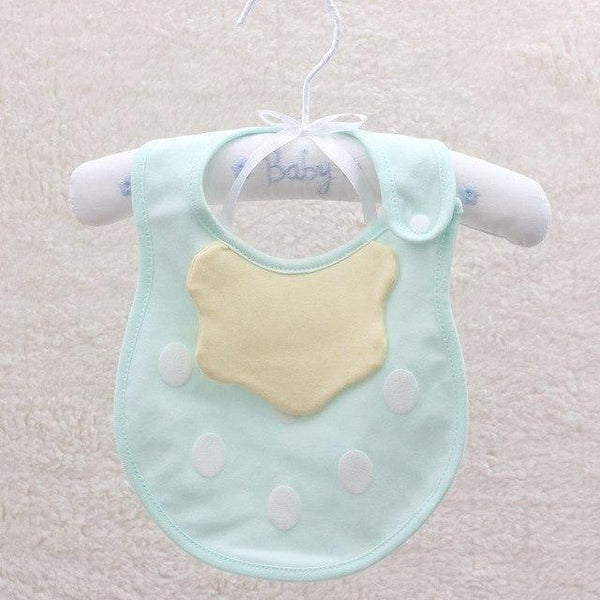 PINkart-USA 5 Baby Cartoon Fruit Bibs Lovely Candy Color Waterproof Bibs Boys Girls Cute Cotton Saliva Towel Born