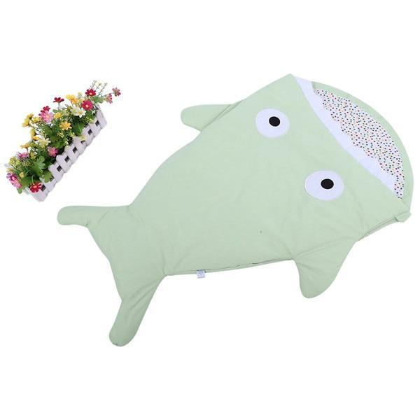PINkart-USA 5 Warm Baby Sleeping Bag Soft Cotton Thick Blanket Winter Sweet Cartoon Shark Babies Born Infant Kids