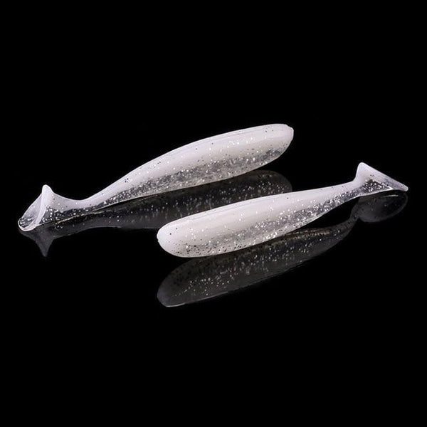 PINkart-USA 6 / 7cm 6Pcs/Lot 7Cm/9Cm Wobblers Fishing Lures Easy Shiner Swimbait Silicone Soft Bait Double Color Carp