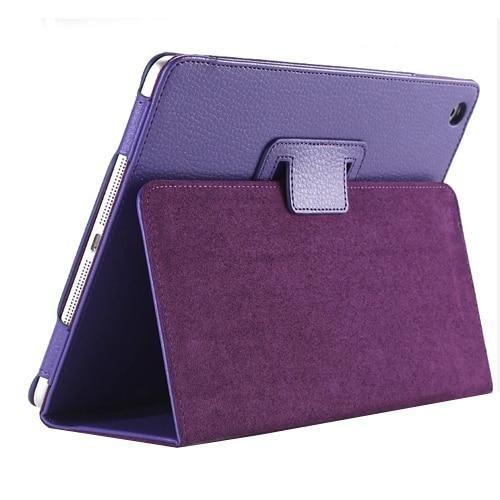 PINkart-USA 6 New For Apple ipad 2 3 4 Magnetic Flip Litchi PU Leather Case For ipad 3 for ipad 4 Cover with Smart Stand Holder