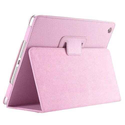 PINkart-USA 7 New For Apple ipad 2 3 4 Magnetic Flip Litchi PU Leather Case For ipad 3 for ipad 4 Cover with Smart Stand Holder