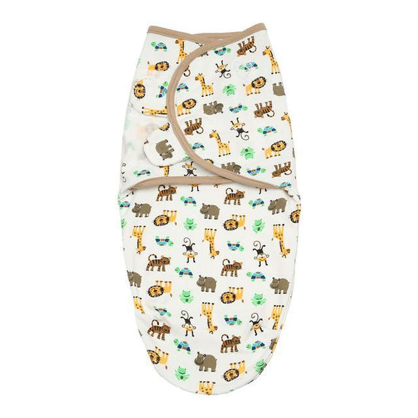 PINkart-USA 71014 Lion Bear Cocoon Baby Envelope For Newborns 100% Cotton 0-3 Months Baby Sleeping Bag Feeding