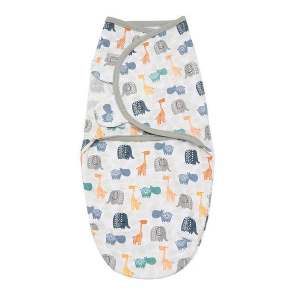 PINkart-USA 71020 Lion Bear Cocoon Baby Envelope For Newborns 100% Cotton 0-3 Months Baby Sleeping Bag Feeding
