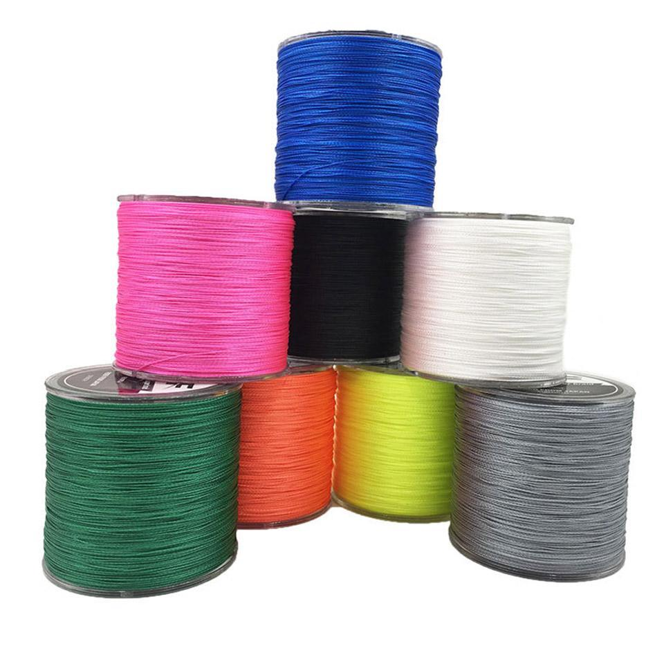 PINkart-USA 8 Strands Weaves 500M Extrem Strong Japan Multifilament Pe 8 Braided Fishing Line 15 20 30 40 50 60