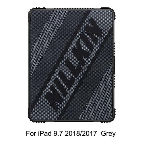 PINkart-USA 9.7 2018(2017) grey / Russian Federation Original Nillkin PU Leather Smart Cover Case Stand for iPad Air 2019/Pro 10.5 2017/Mini 2019/Mini 4/9.7/Pro 11/Pro 12.9 (2018)