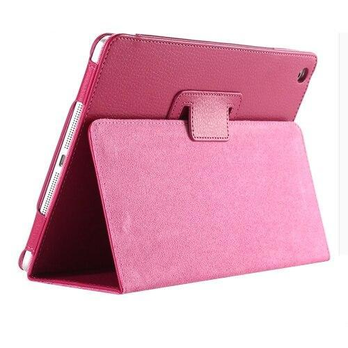 PINkart-USA 9 New For Apple ipad 2 3 4 Magnetic Flip Litchi PU Leather Case For ipad 3 for ipad 4 Cover with Smart Stand Holder