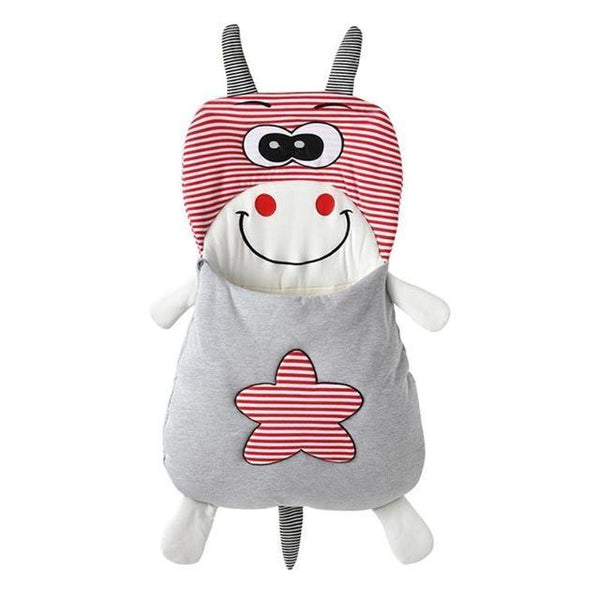 PINkart-USA A / 12M Baby Bedding Baby Sleeping Bags Kids Sleeping Sack Cartoon Animals Baby Sleeping Bag Cotton