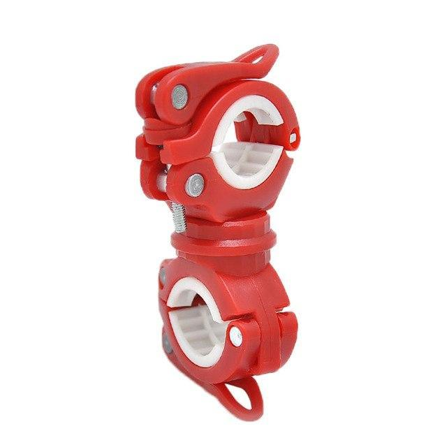 PINkart-USA A / China 360 Degree Rotary Multifunctional Bicycle Flashlight Holder Cycling Accessories Lamp Holder Bike