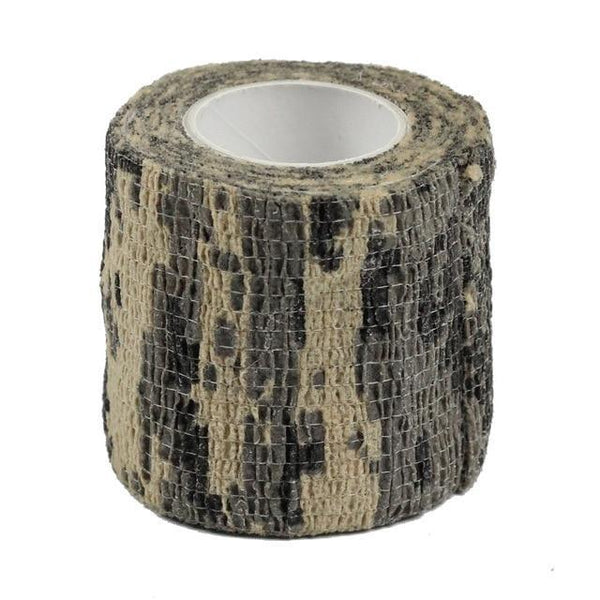 PINkart-USA ACU 4.5M*5M Tactical Camouflage 1 Roll Stretch Bandage Outdoor Hunting War Shooting Tape Gun