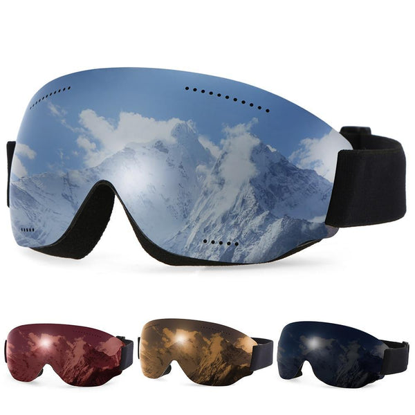 PINkart-USA Anti-Fogging Goggle Skiing Uv400 Protective Goggles Otg Climbing Skating Snow Sports Goggles For