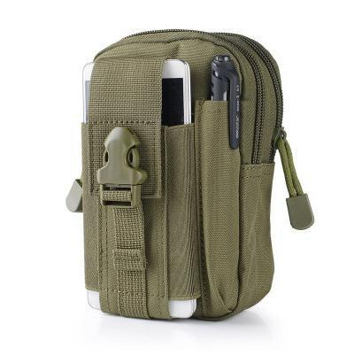 PINkart-USA Army Green Outdoor Camping Hunting Accessory 600D Tactical Waist Bag Pouch Military Waist Belt Wallet Sport
