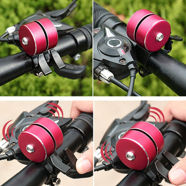 PINkart-USA Arrival Bicycle Bell With Double Click 120Db Bicycle Handlebar Bell Alarm Bike Horn Bells Cycling