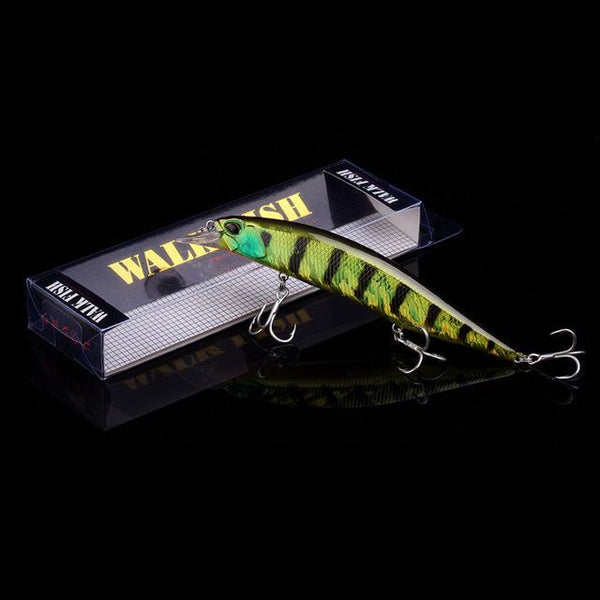 PINkart-USA B 2 Hot Model Wobbler Fishing Lure 135Mm 17.4G Floating Minnow Crankbait Bass Pike Bait Fishing