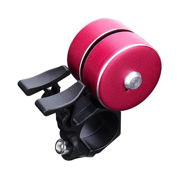 PINkart-USA B / China Arrival Bicycle Bell With Double Click 120Db Bicycle Handlebar Bell Alarm Bike Horn Bells Cycling