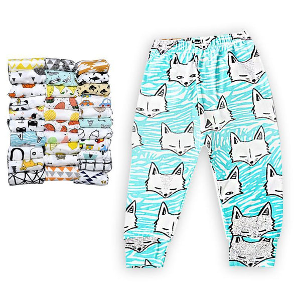 PINkart-USA Baby Leggings Atutmn Cartoon Baby Leggings Pants Children Trousers Harem Pants Baby Boy Trousers