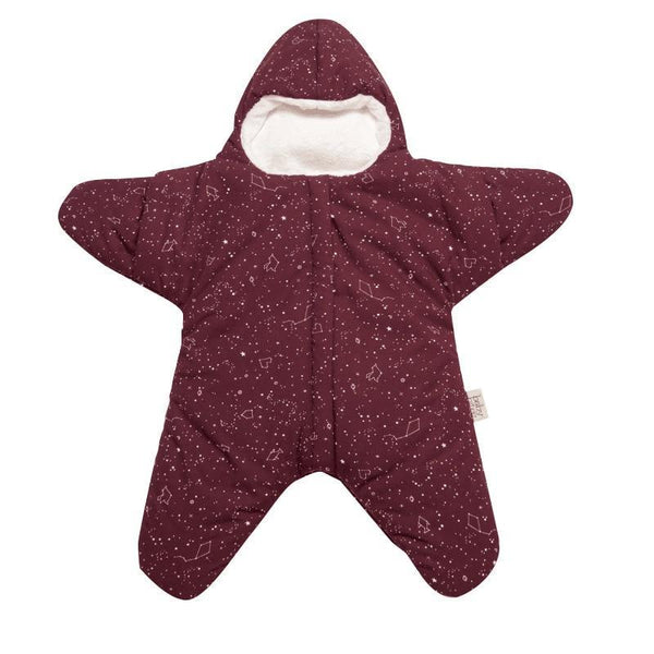 PINkart-USA Baby Sleeping Bag Star Shape Soft Warm Windproof Multi Function Outdoor Baby Wrap Flannel Inner 0-2