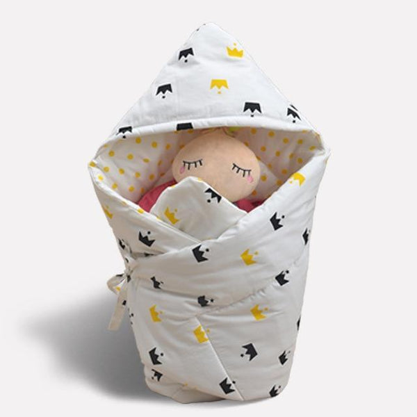 PINkart-USA baidiheihuangguan Anti-Dirty Cute Print Baby Sleeping Bag Envelope 1 Pcs Multi-Color Infant Born Sleepsacks 90*90Cm