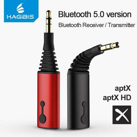 Bluetooth Receiver Transmitter 3.5Mm Aptx 2In1 Bluetooth 5.0 Adapter For Headphone Speaker Wireless