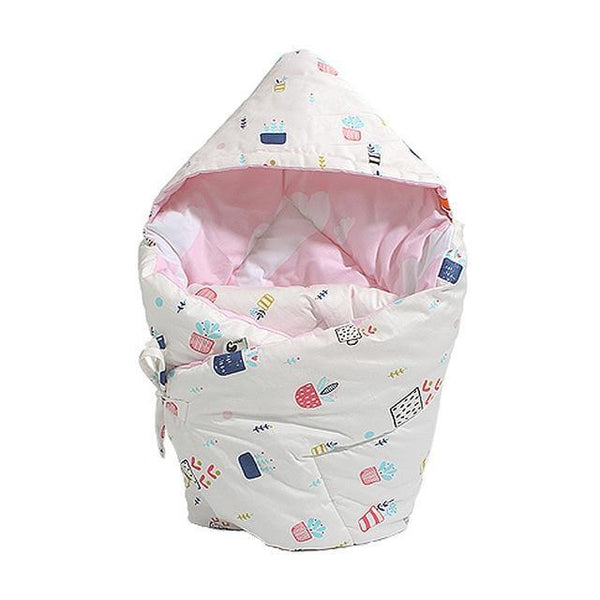PINkart-USA beizipenzai Anti-Dirty Cute Print Baby Sleeping Bag Envelope 1 Pcs Multi-Color Infant Born Sleepsacks 90*90Cm