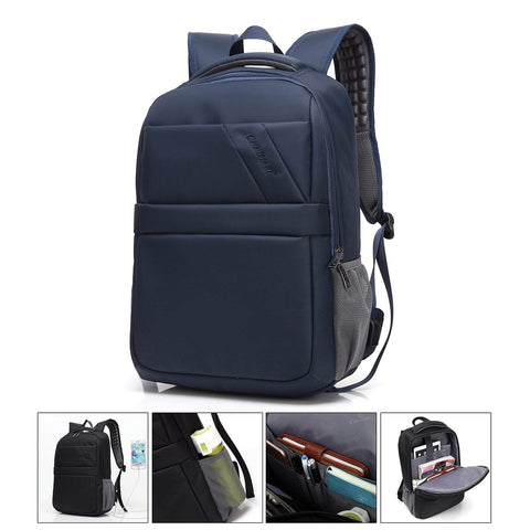 PINkart-USA Black / 15.6 inch Male 15.6 Laptop Backpack With Charging Usb For Notebook Waterproof Anti-Theft School Backpack Man Men Travel Bags