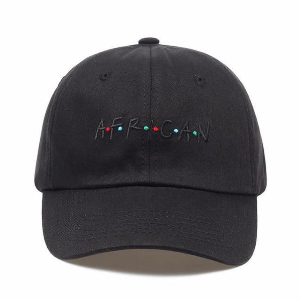 PINkart-USA black AFRICAN Hot Selling Cotton% Popular Letters Embroidery Dad Hats Adjustable Men Women Baseball Cap Hat