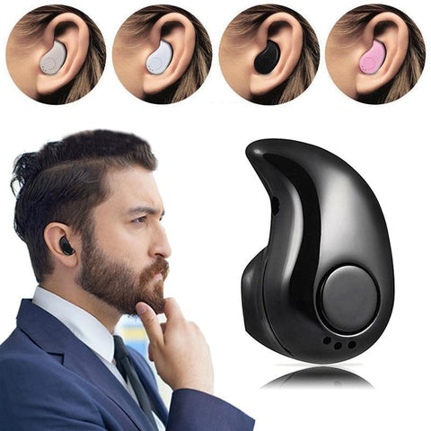 PINkart-USA Black / China Mini Twins Bluetooth Earphone Stereo Headphones Wireless Earphones Sport In Ear Headset For Apple